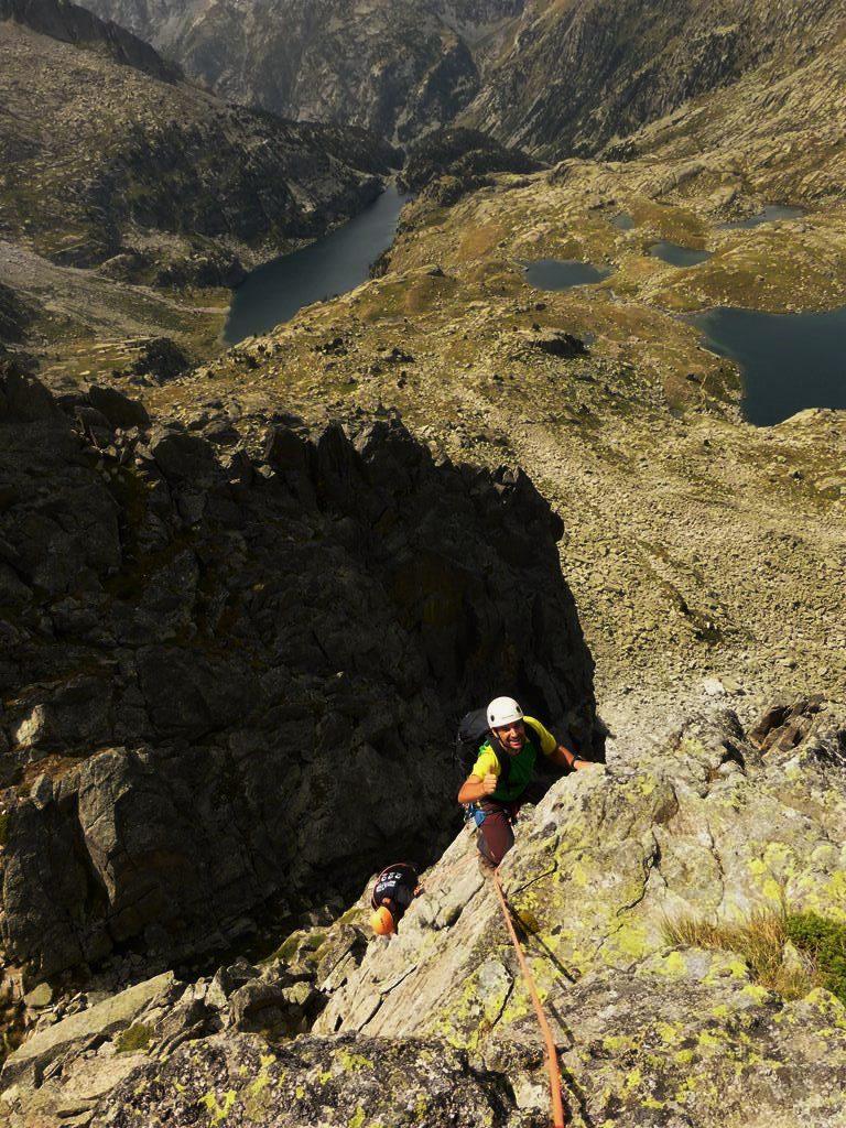 La cresta de Travesany se encuentra en La Vall de Boi, en pleno corazón del Parque Nacional de Aigüestortes i Sant Maurici, en el Pirineo de Lérida.