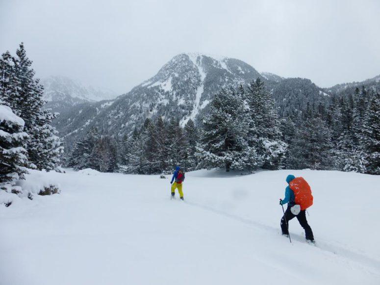 Esqui de montaña Carros de foc (Portada)
