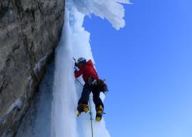 Escalada en hielo Alpes